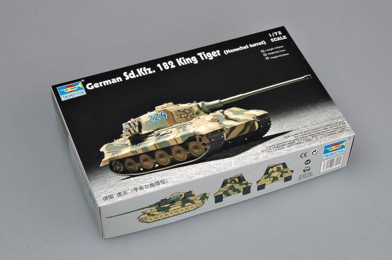 1/72 Sd.Kfz. 182 King Tiger (Henschel turret)