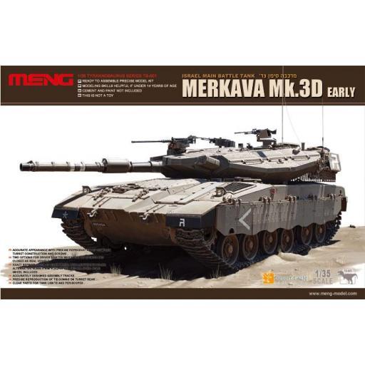1/35 Merkava MK.3D Early