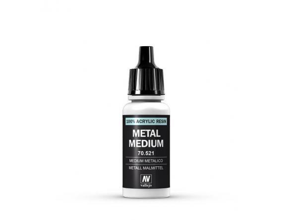 Medium Metálico 17 ml. [0]