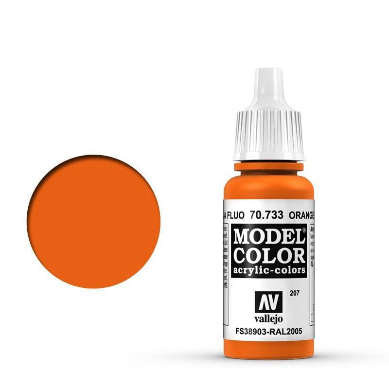 Modelcolor 70.733 Naranja Fluorescente