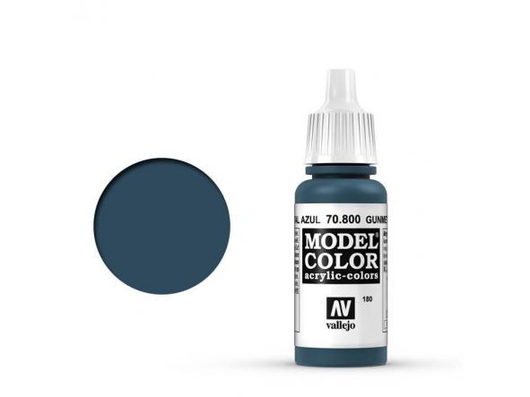 Modelcolor 70.800 Metal Azul - Gunmetal blue