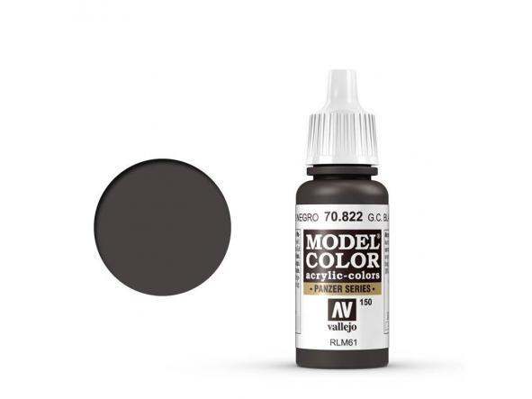 Modelcolor 70.822 Camuflaje Pardo Negro Alemán