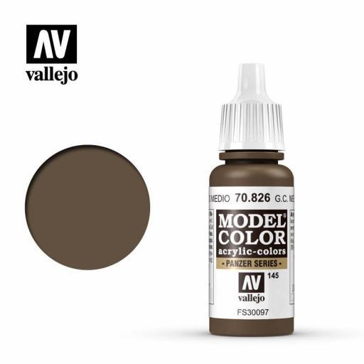 Model Color 70.826  Alemán Cam.Pardo Medio 17ml