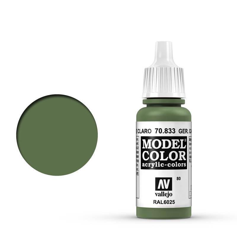 Modelcolor 70.833 Camuflaje Verde Claro - German Camo Bright Green