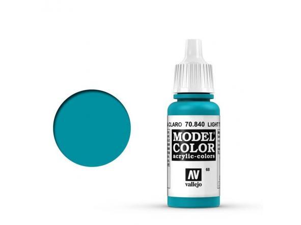 Modelcolor 70.840 Turquesa Claro - Light Turquoise Blue