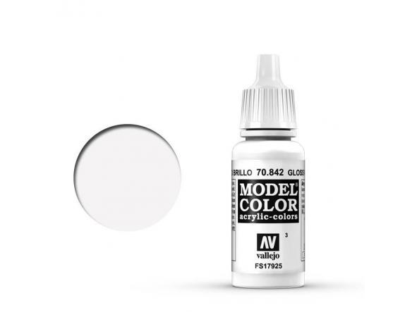 Modelcolor 70.842 Blanco Brillo - Gloss White