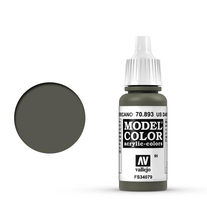 Modelcolor 70.893  Verde Americano - US Dark Green