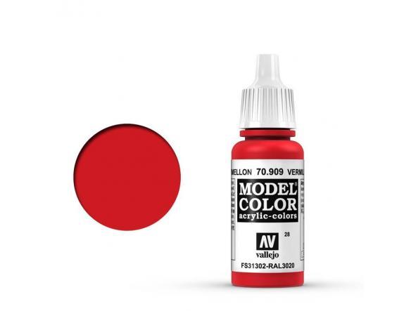 Modelcolor 70.909 Rojo Cadmio Bermellón