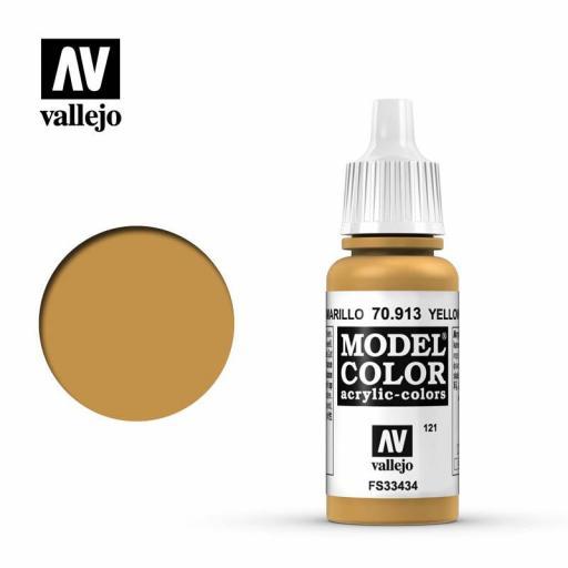Model Color 70.913  Ocre Amarillo 17ml