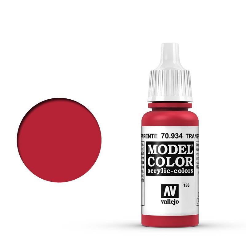 Modelcolor 70.934 Rojo Transparente