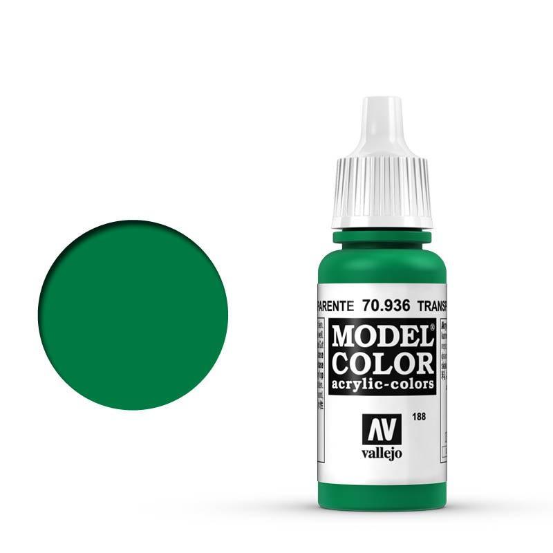 Modelcolor 70.936 Verde Transparente - Transparent Green