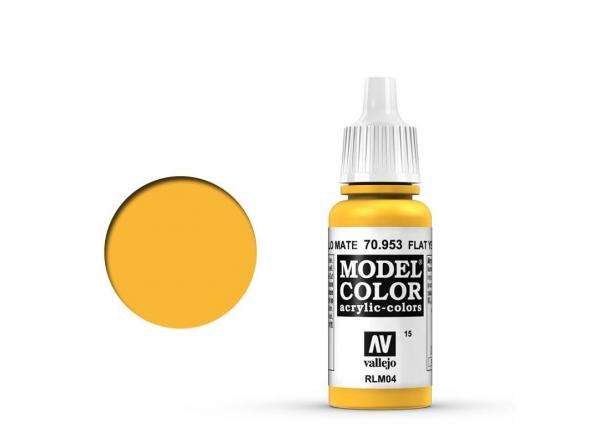 Modelcolor 70.953 Amarillo Mate - Flat Yellow