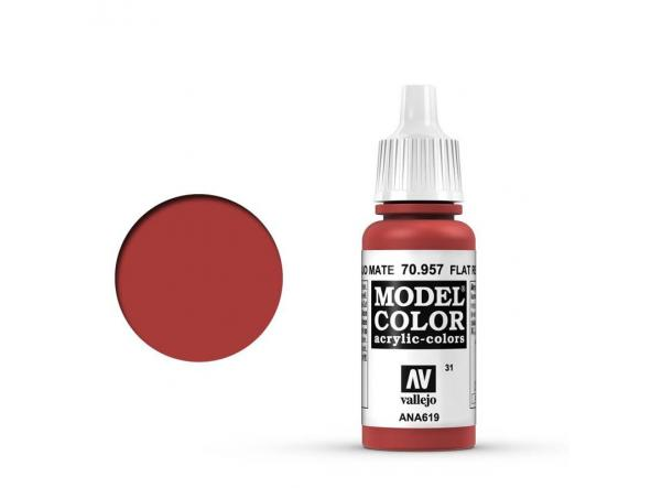 Modelcolor 70.957 Rojo Mate - Flat Red