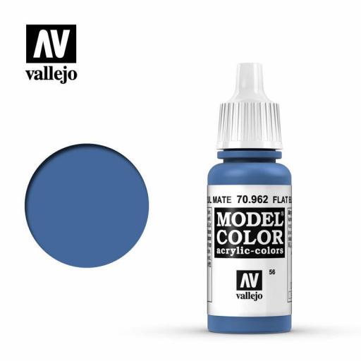 Model Color 70.962  Azul Mate 17ml