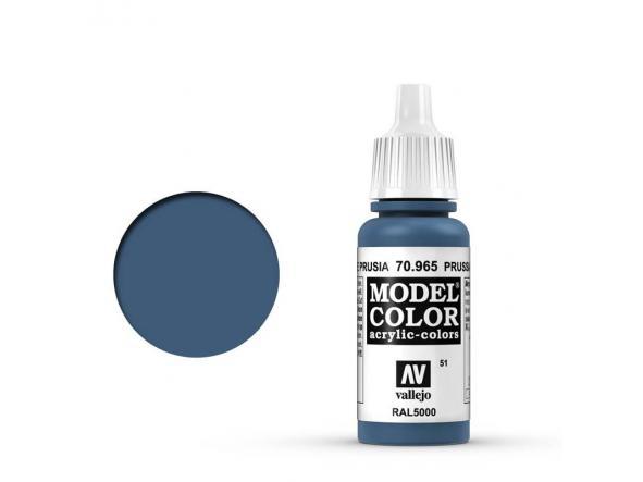 Modelcolor 70.965 Azul De Prusia