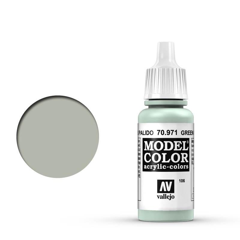 Modelcolor 70.971 Verde Gris Palido - Green Grey