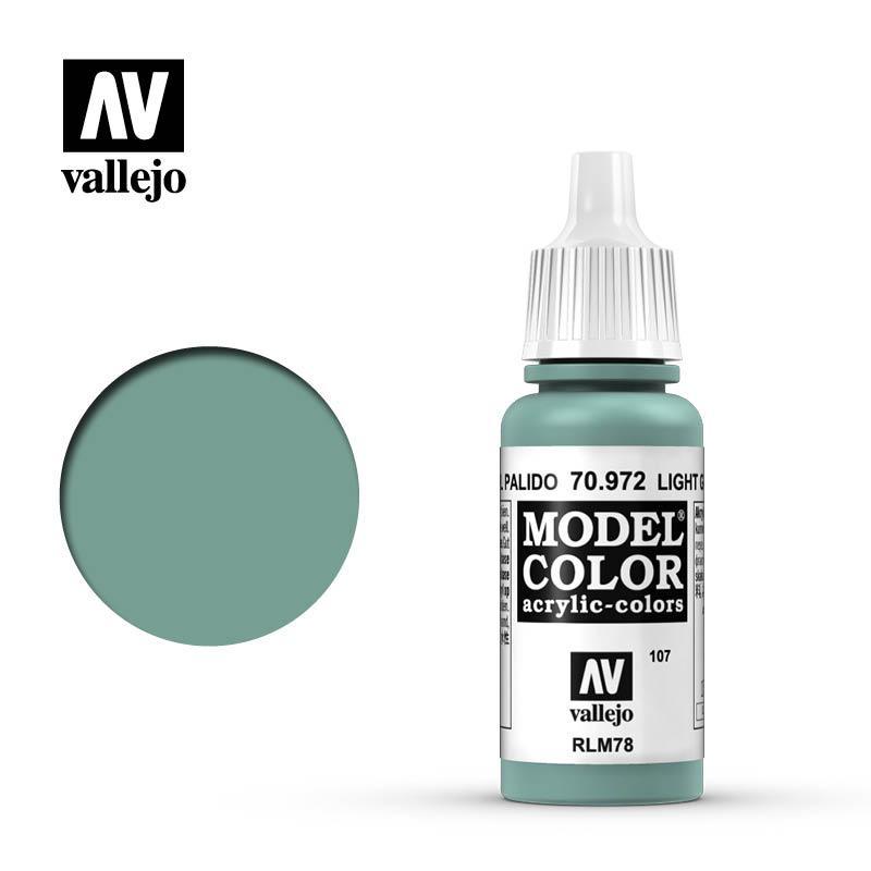 Modelcolor 70.972 Verde Azul Pálido - Light Green Blue