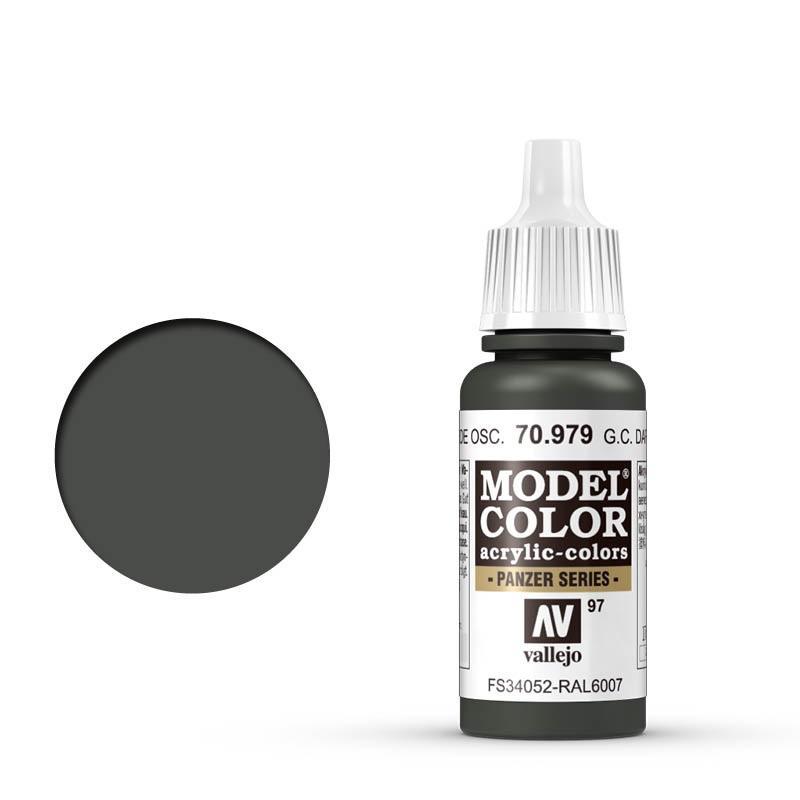 Modelcolor 70.979 Camuflaje Verde Oscuro Alemán