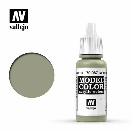 Model Color 70.987  Gris Medio 17ml