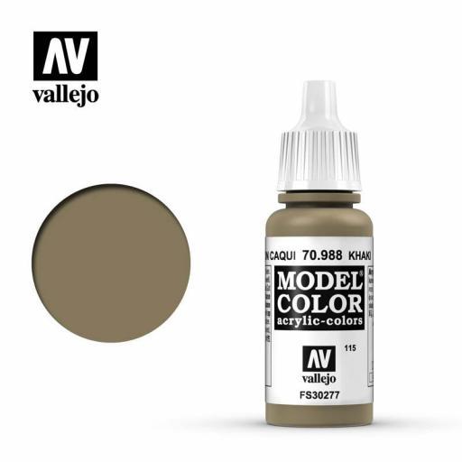Model Color 70.988  Marrón Caqui 17ml