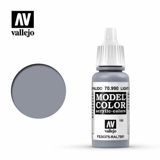 Model Color 70.990  Gris Pálido 17ml