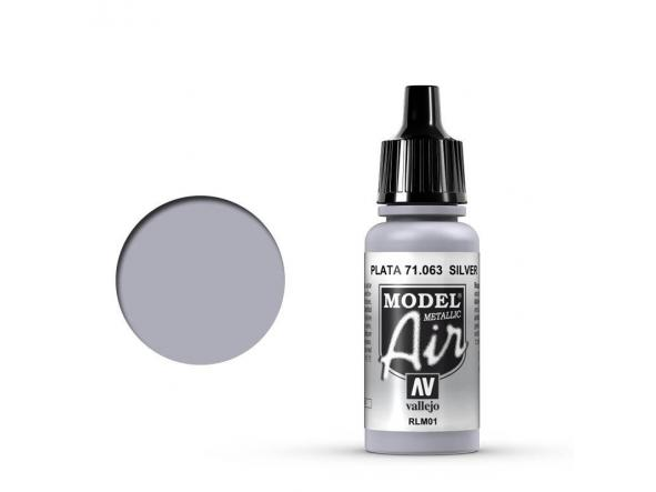Model Air 71.063 Plata - Silver RLM01 Metallic