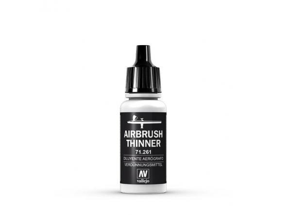Diluyente Aerografo - Airbrush Thinner 17 ml.