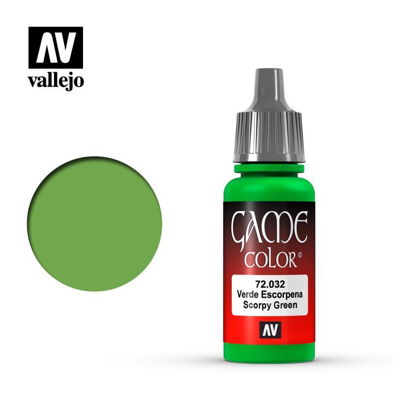 Game Color 72032  Verde Escorpena 17 ml.