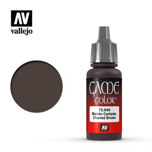 Game Color 72045  Marrón Carbonizado 17 ml.