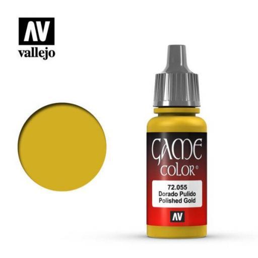 Game Color 72055  Dorado Pulido 17 ml.