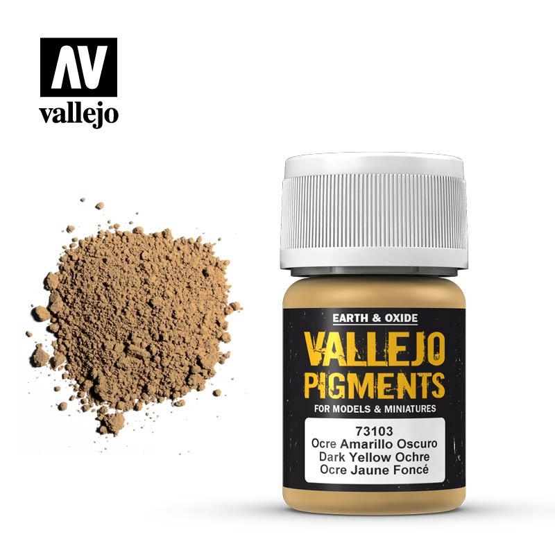 Pigmentos 35 ml. Ocre Amarillo Oscuro
