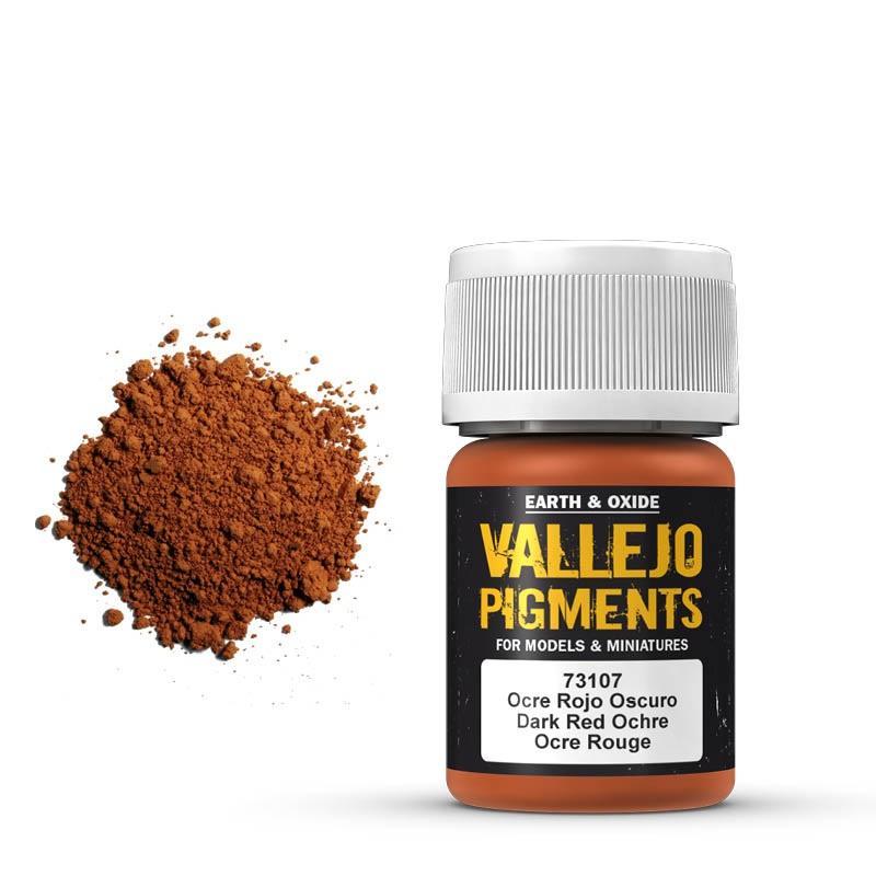 Pigmentos  35 ml. Ocre Rojo Oscuro