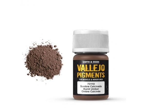 Pigmentos  35 ml. Sombra Calcinada - Burnt Umber