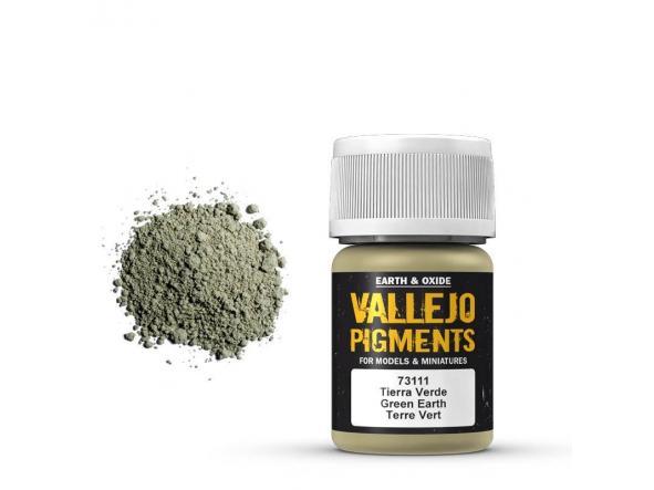 Pigmentos  35 ml. Tierra Verde