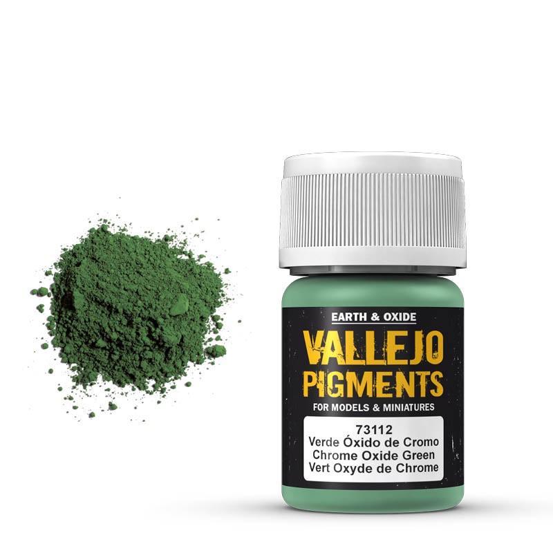 Pigmentos  35 ml. Verde Oxido De Cromo