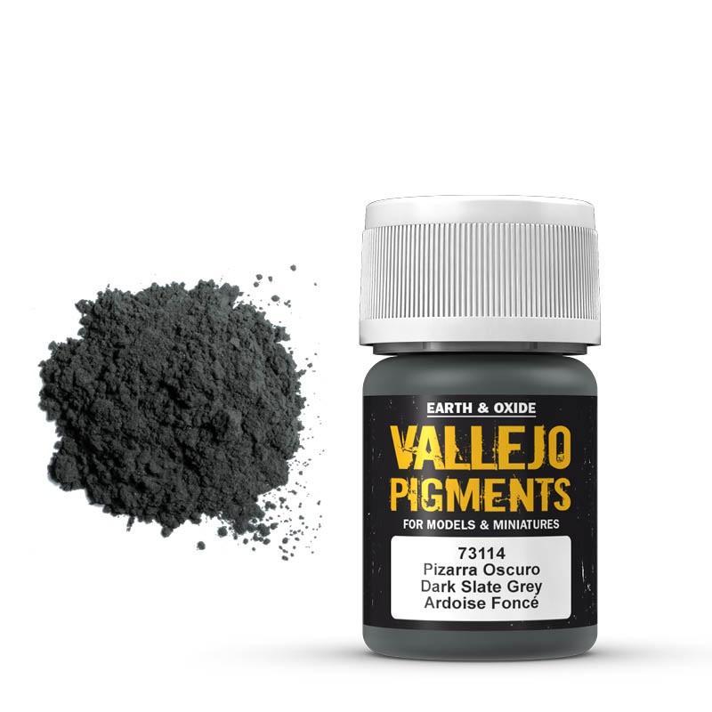 Pigmentos  35 ml. Pizarra Oscuro