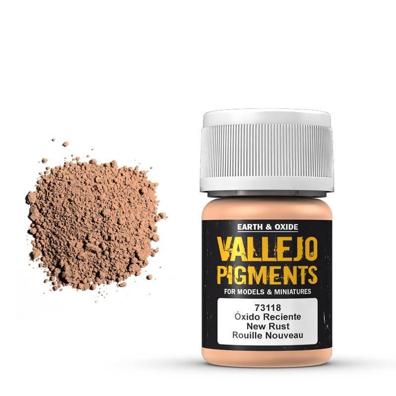 Pigmentos  35 ml. Oxido Reciente - New Rust