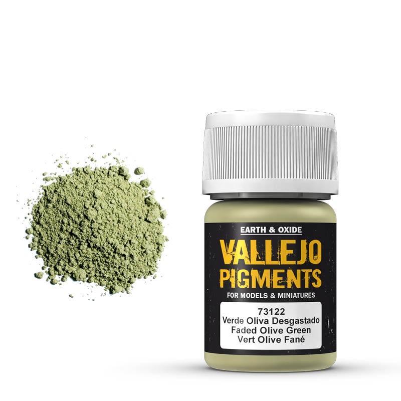 Pigmentos  35 ml. Verde Oliva Desgastado - Faded Olive Green