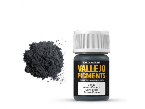 Pigmentos  35 ml. Acero Oscuro - Dark Steel