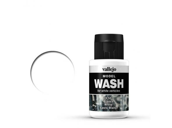 Model WASH  35 ml. Blanco