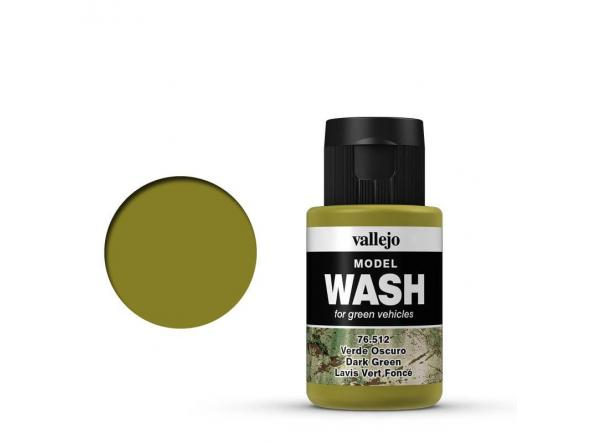 Model WASH  35 ml. Verde Oscuro