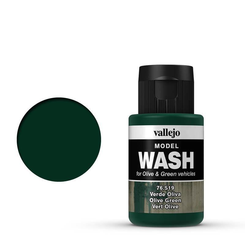 Model WASH  35 ml. Verde Oliva