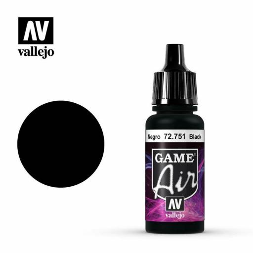Game Air Negro 17ml