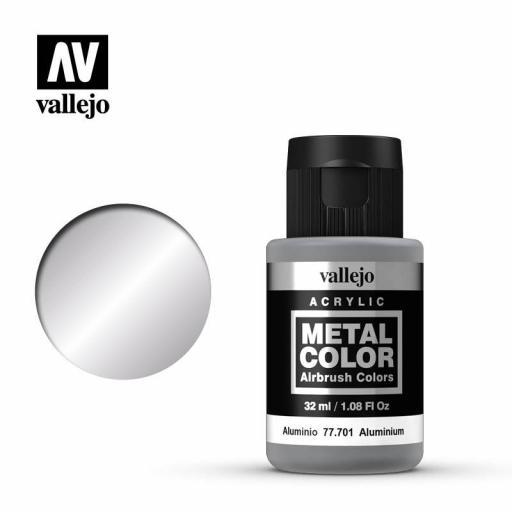 Metal Color 77701 - Aluminio