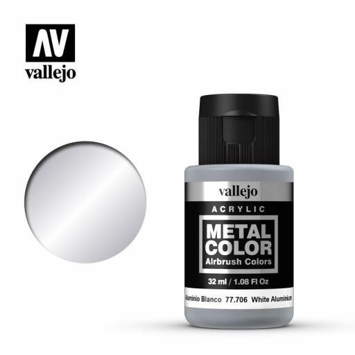 Metal Color 77706 - Aluminio Blanco