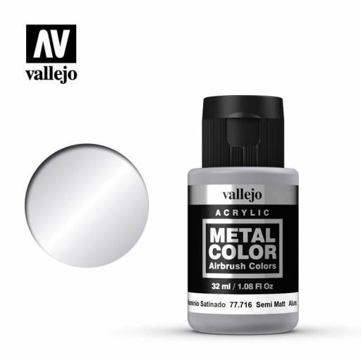 Metal Color  77716 - Aluminio Satinado