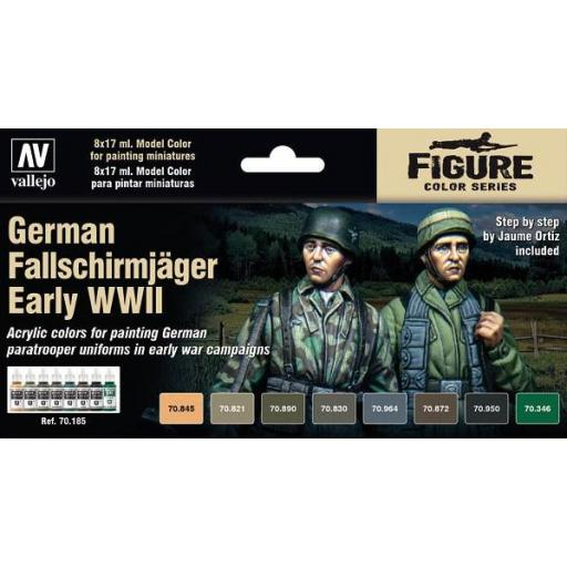 Set  Pinturas German Fallschirmjäger Early WWII