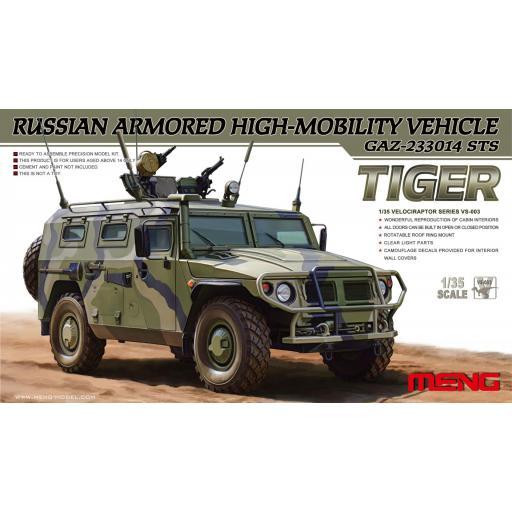 1/35 Russian GAZ 233014 Tiger STS