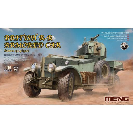 1/35 British R-R Armored Car 1914/20