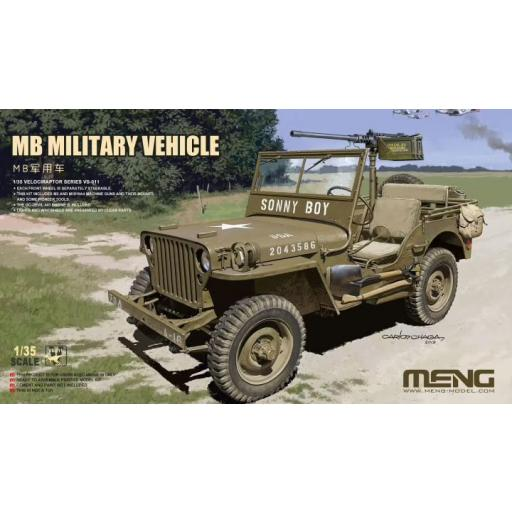 1/35 Jeep MB Military Vehicle